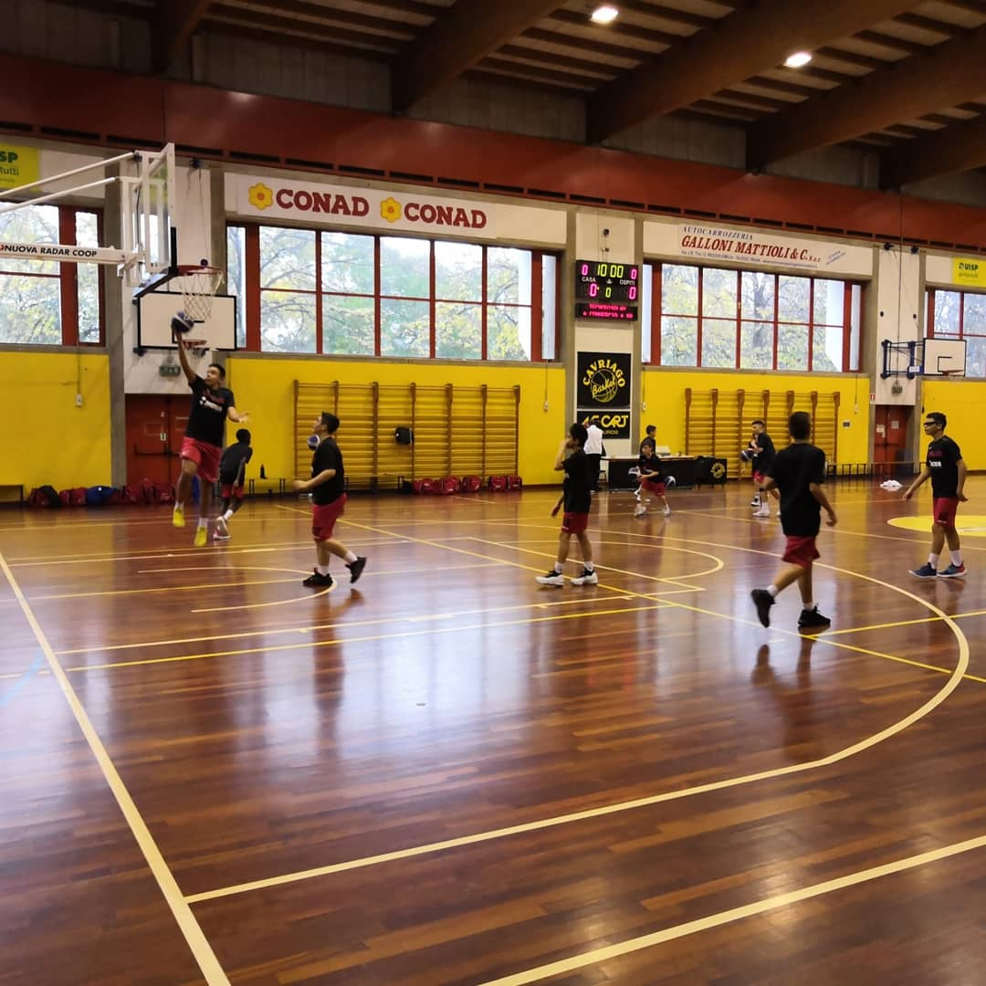 Under 13 Elite: Basket Cavriago – Diablos Basket