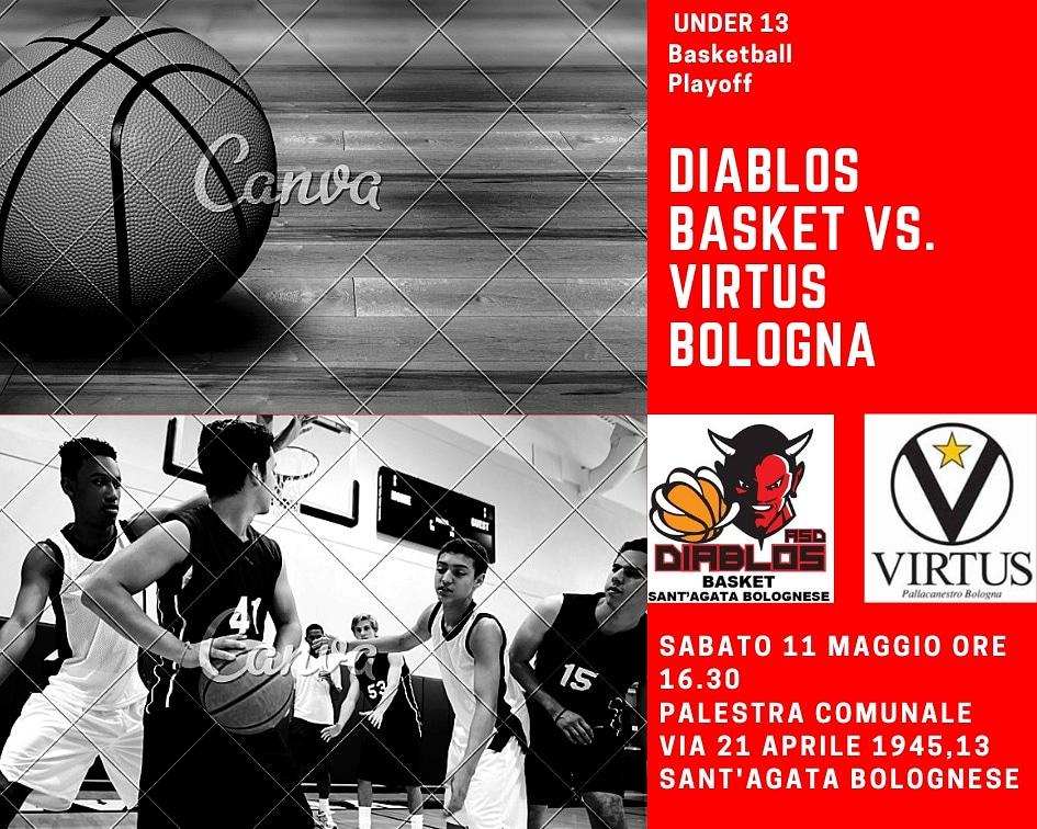 Under 13: Diablos Basket – Virtus Bologna.