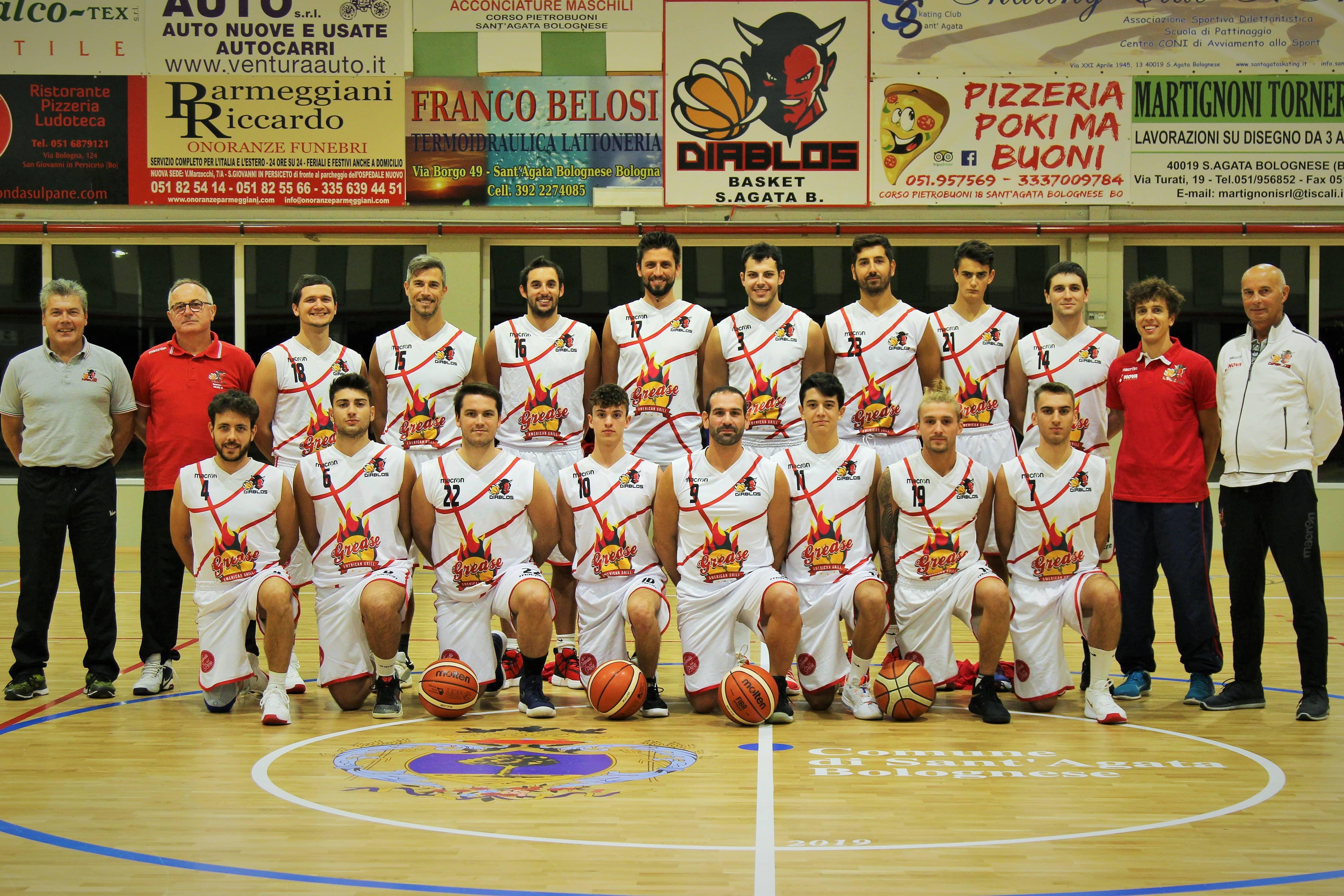 Promozione: Pfc Crevalcore – Diablos Basket