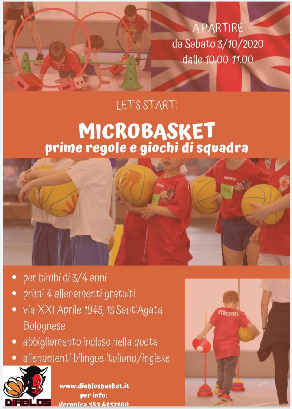 Rincomincia il Microbasket !!!